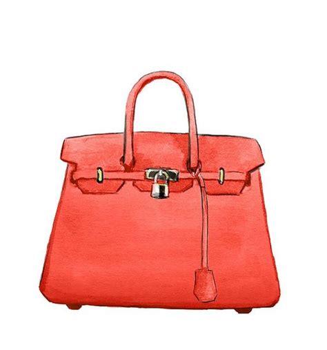 Bag Fashion Atr watercolor handbag fashion illustration hermes birkin