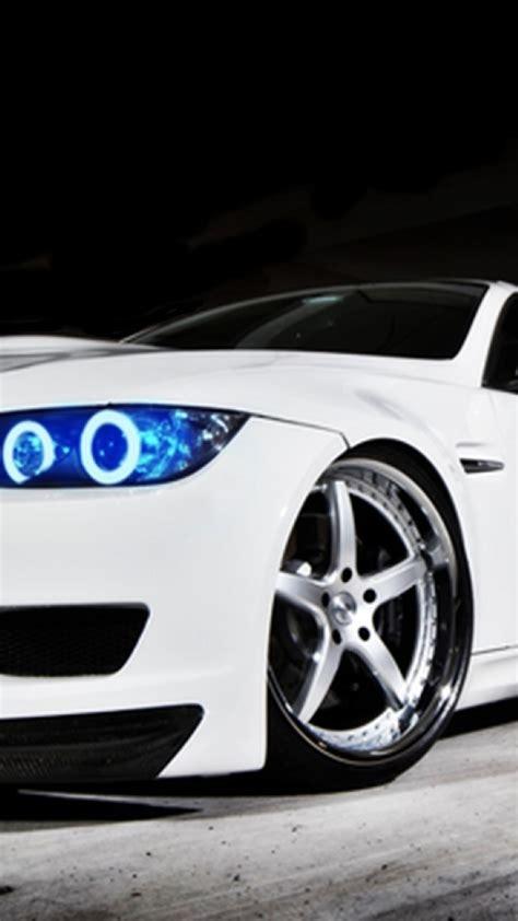 bmw  white blue headlights iphone   hd wallpaper hd