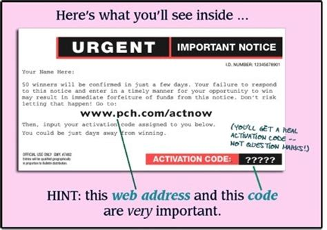 Www Pch Com Urgent Special Registration Page - did you receive a www pch com actnow postcard from pch pch blog