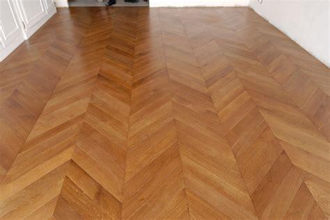 Chevron Wood Floor by Atelier Des Granges Parquet The Classic Chevron