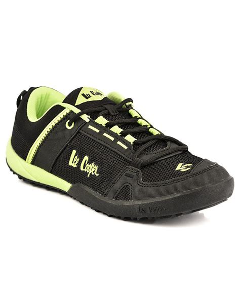 leecooper sports shoes cooper sports black sport shoes price in india buy