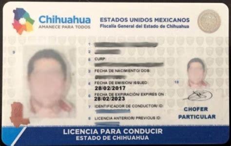 costo renovacin licencia de conducir 2016 chihuahua chihuahua 191 quieres sacar licencia ve aqu 237 el nuevo