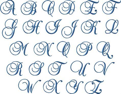 free printable monogram alphabet letters monogram 3