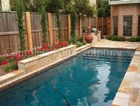 Backyard Pools In Small Spaces 1000 Images About Small Yard Pool Ideas On
