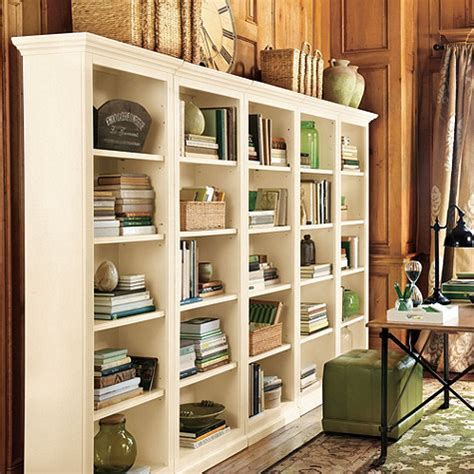 decorating bookshelves bookcases for a home office traditional white vs