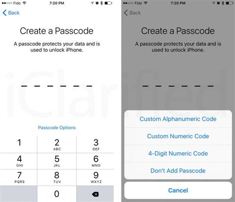 ios 9 defaults to using a 6 digit passcode pin iclarified