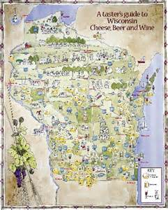 Wisconsin Brewery Map by From Seed To Stomach A Month Of Meals From The Atlantic