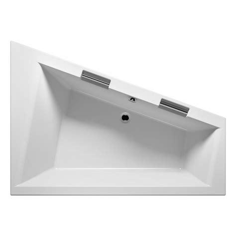 baignoire angle 130x130 grande baignoire d angle acrylique riho doppio 180x130 cm