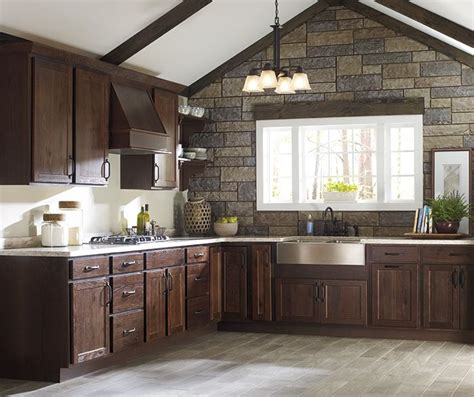 rustic hickory kitchen cabinets rustic hickory kitchen cabinets our new kitchen pinterest