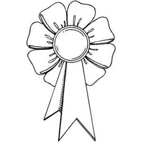 coloring page prize ribbon award ribbon coloring page coloring pages