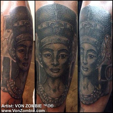 african queen tattoo tumblr queen nefertiti portrait style tattoo done with opaque