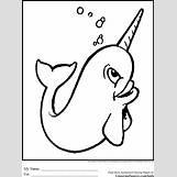 Narwhals Cartoon | 2459 x 3310 gif 64kB