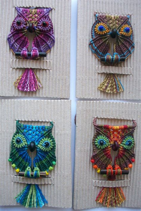 Macrame Ideas - 25 best ideas about macrame owl on macrame