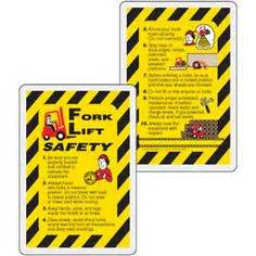 safety wallet card template certified forklift driver