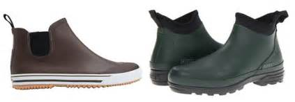 Shoes men can wear in the rain without looking like they re going