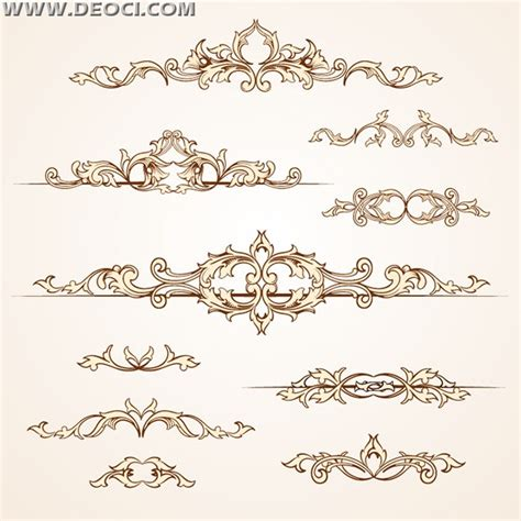 pattern in ai format traditional european pattern set ai file download deoci