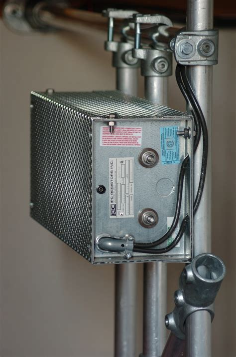 ipc braking resistor the 2000 watt dynamic braking resistor mounted near the middle of the roomfor best heat
