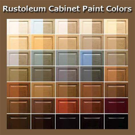 Rustoleum Kitchen Cabinet Paint Cabinet Paint Colors Rustoleum Cabinet Transformation And