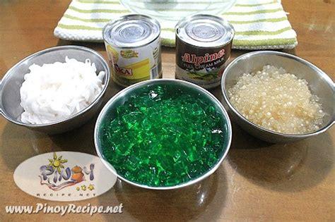 buro panga recipe buko pandan juice with sago recipe recipes portal