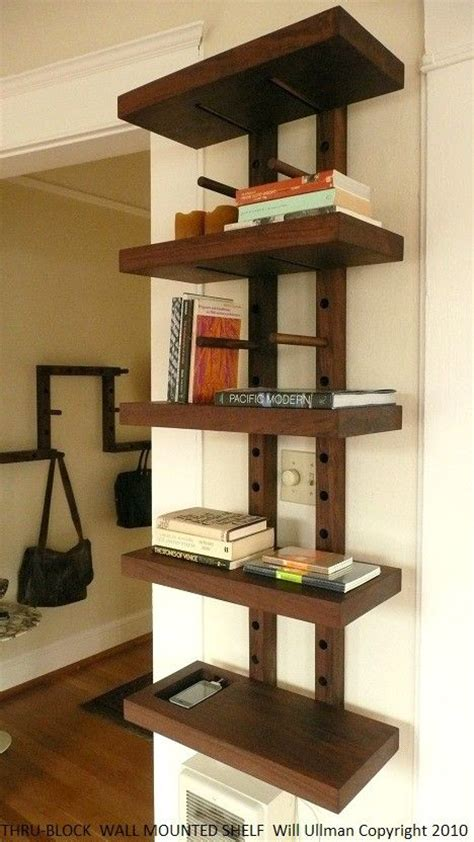 Corner Shelf System by Best 25 Wall Mounted Bookshelves Ideas Only On