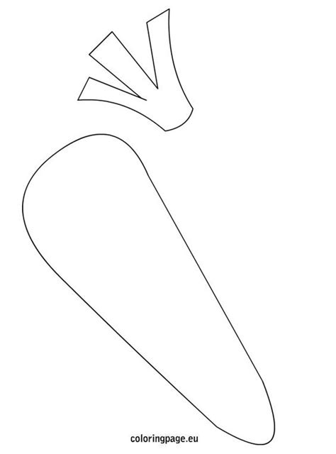 carrot nose coloring page carrot template to use for name cards on cubbies kids