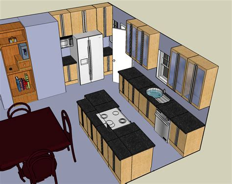 how to design a kitchen island layout kitchen layout design