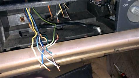 wire stereo blazer jimmy bravada sonoma  youtube
