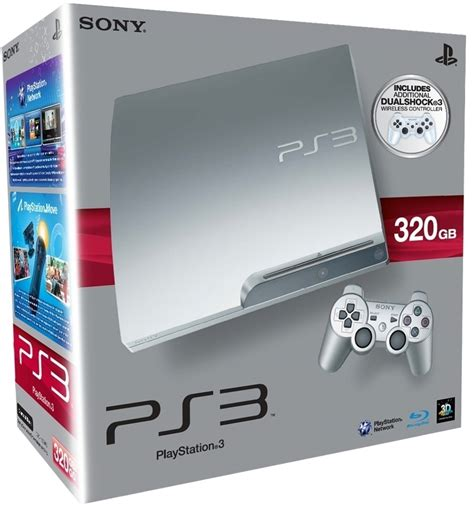 Ps3 Sony Slim 320gb sony playstation 3 ps3 slim 320gb satin silver skroutz gr