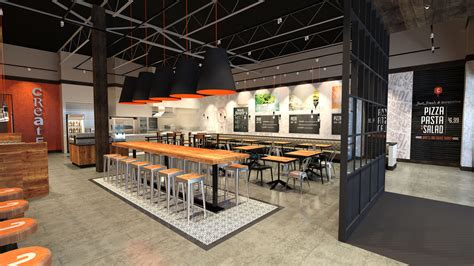 korea home bar interior design picture red table korean fast casual restaurant google search
