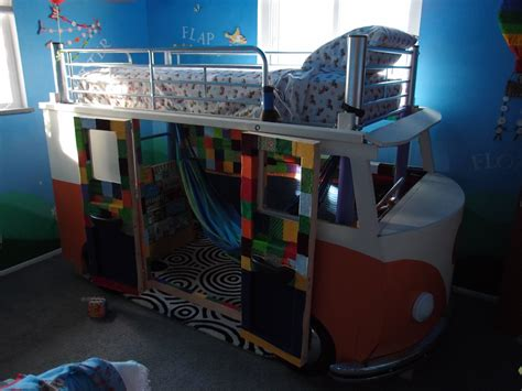 beds for 3 year olds best dad ever builds vw bus bed for 3 year old daughter