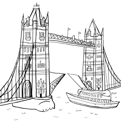 free coloring pages of london buildings