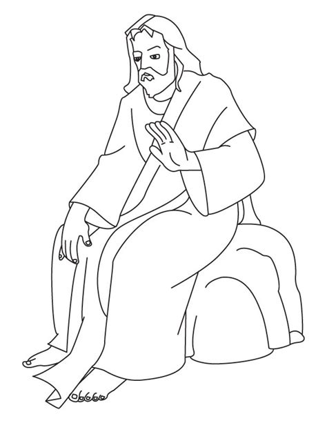coloring page jesus of god god jesus coloring pages free