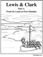 free printable lesson plans on lewis and clark lewis and clark theme unit printables
