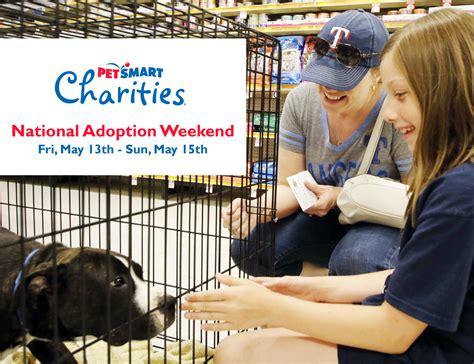 adoption events upcoming events petsmart national adoption weekend