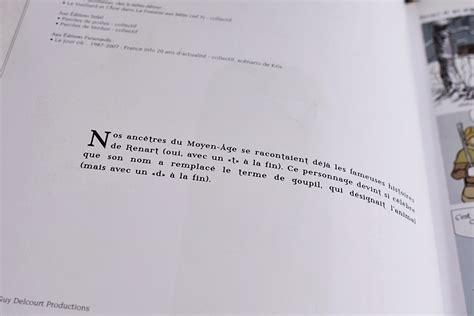 Renart Resume by Le De Renart Tome 1