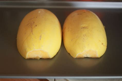 how to cook spaghetti squash two different ways in the microwave or in the oven kitchen treaty