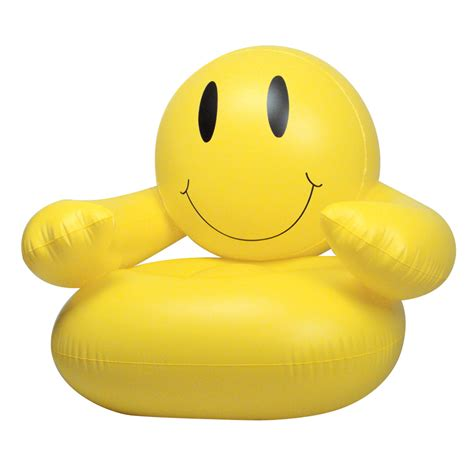 Sports Themed Bedroom Ideas smile man inflatable chair novelty blow up furniture