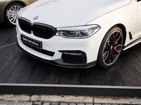 bmw 540i performance parts bmw pimps out this 540i with a lot of m performance parts
