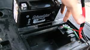 how to charge a scooter battery yamaha vino 125 amp battery