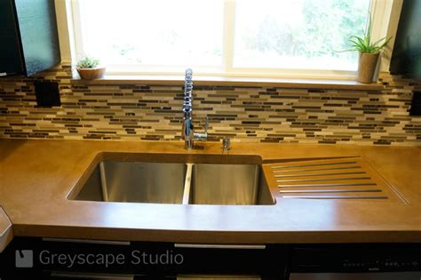 Kitchen sink with drain board     Kitchen ideas