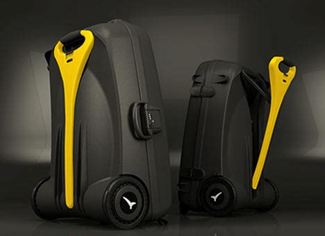 luggage offers battery operated suitcase slashgear