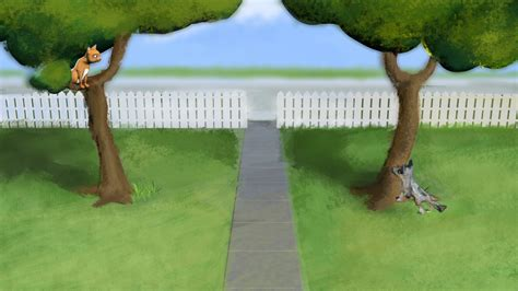 barking up the wrong tree a bluff point barking up the wrong tree 3d modeling and animation