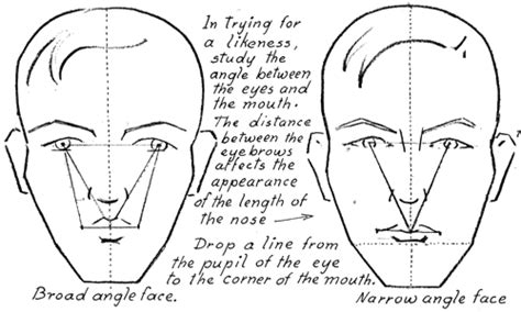 list the different shapes ofthe face used inthe shape below face width