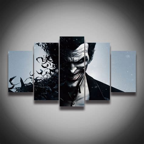 high resolution printable wall art framed art high quality printed picture joker painting