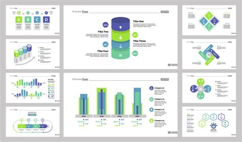 Ten Consulting Slide Templates Set Vector Free Download Consulting Slide Templates