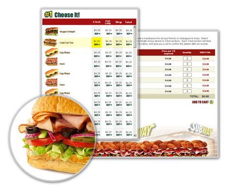 order food website for a fast food franchise web design development study