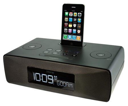 i home ihome ip87 dual alarm clock radio for iphone ipod with am