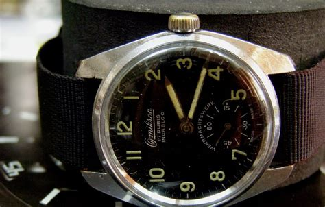 Swiss Army Day Date Silver Tali Hitam For Kacamata Grosir s treasure chest of time pieces vintage swiss made omikron s wristwatch sold