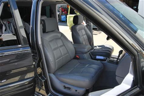 2002 Jeep Grand Seats Jeep 1997 2002 Iggee S Leather Custom Fit Seat