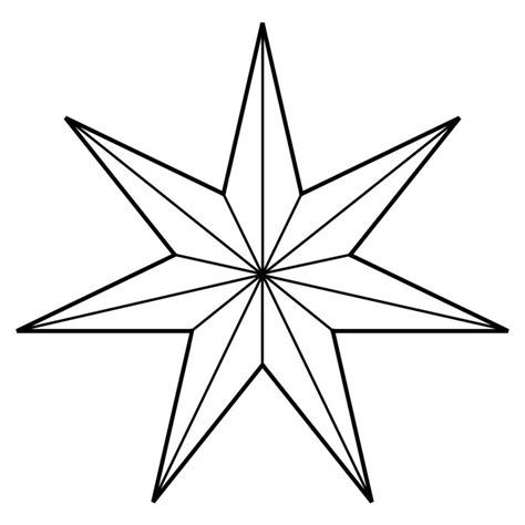 5 point star tattoo seven point inspirations